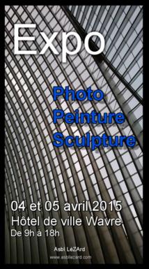 Vous êtes artistes ? Vous souhaitez exposer ? Participez à la Coursive des arts 2015 à Wavre !