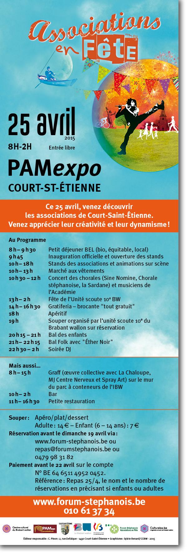 Fête des associations de Court st Etienne !