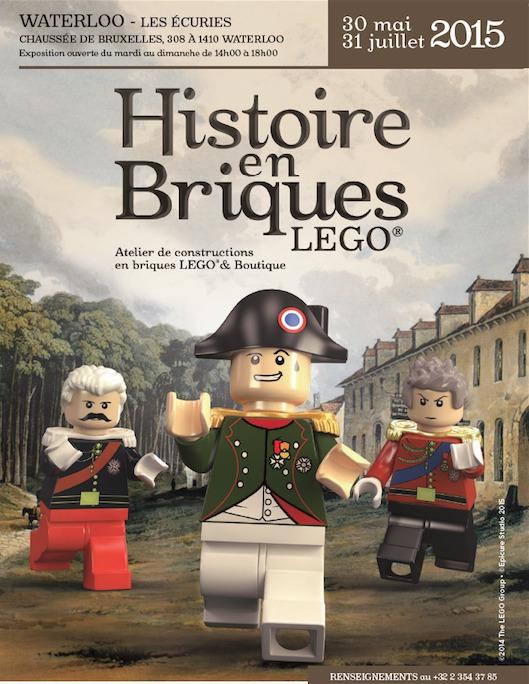 L'HISTOIRE IMPERIALE EN BRIQUES LEGO®… A WATERLOO (+vidéo trailer!)