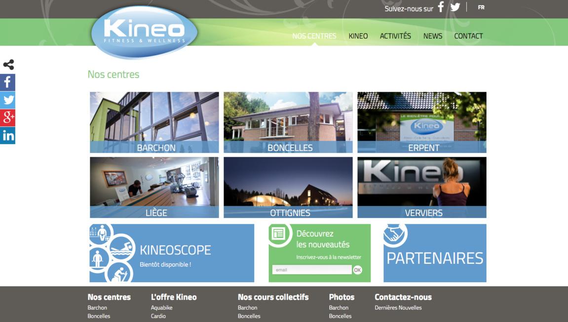 Kineo Fitness & Wellness a un nouveau site web !