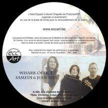 Chapelle de Profondsart: concert de Wisark Office