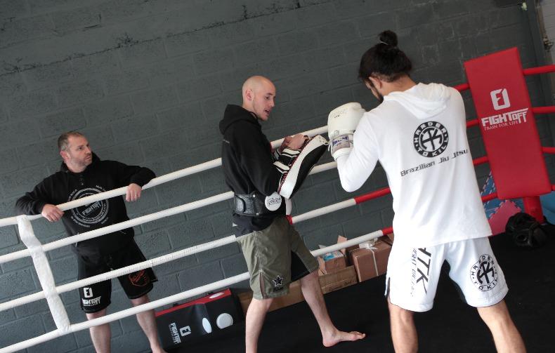 Fight-Off Wavre : Embouteillage sur le ring…(Boxe - Krav Mag - MMA - Wavre - Brabant wallon)