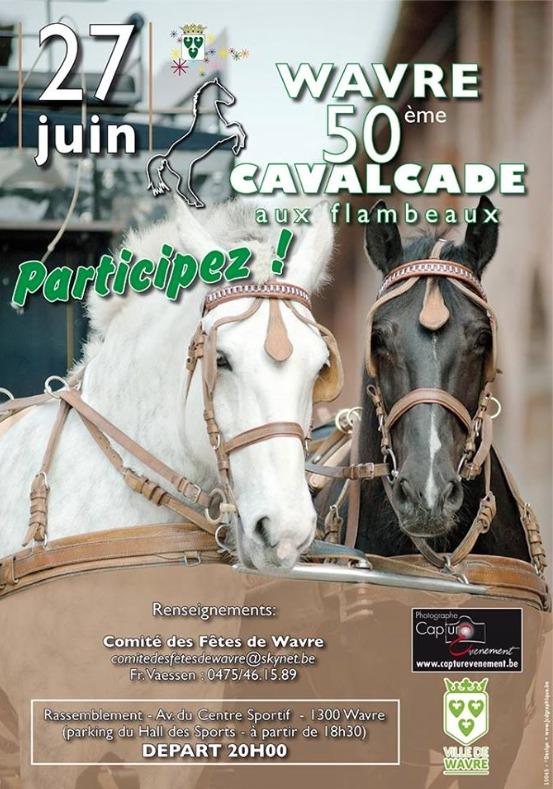 50ème Cavalcade aux flambeaux et fête à Wavre !