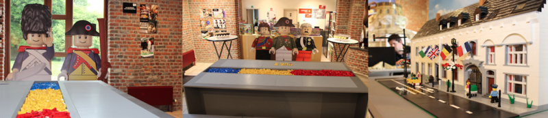Des ateliers Lego à  Waterloo