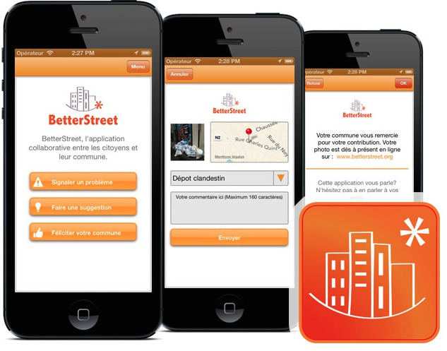 Betterstreet L'application collaborative est active à Wavre