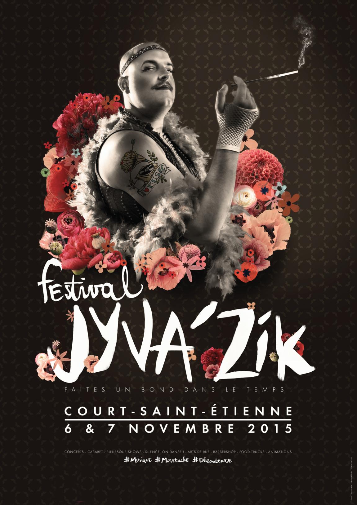 SAVE THE DATE : Le 6 et 7 novembre Jyva'Zik Festival sera au PAM Expo de Court St Etienne !!