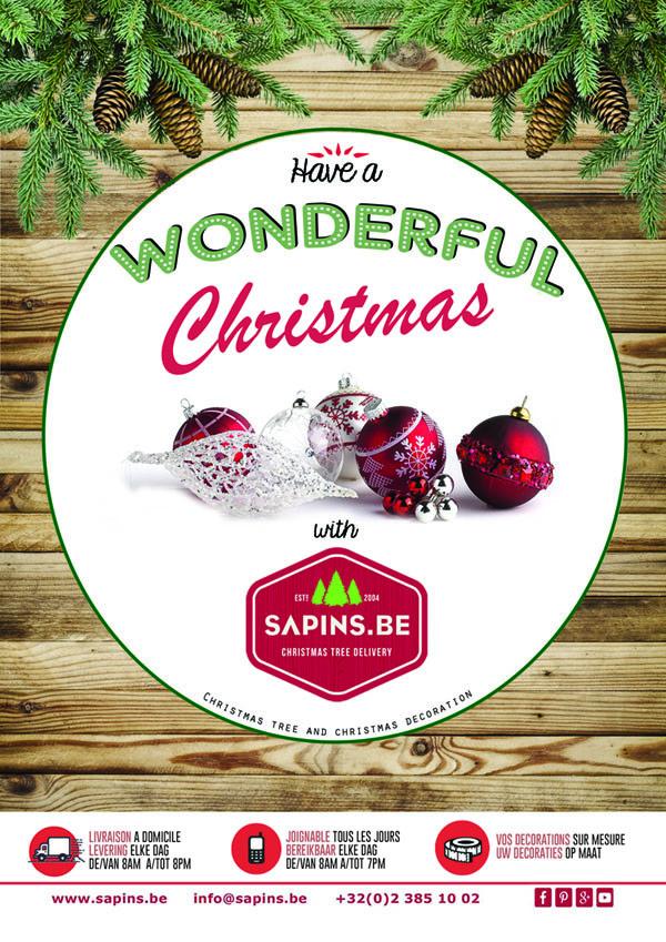 Votre sapin de Noël livré à domicile ?