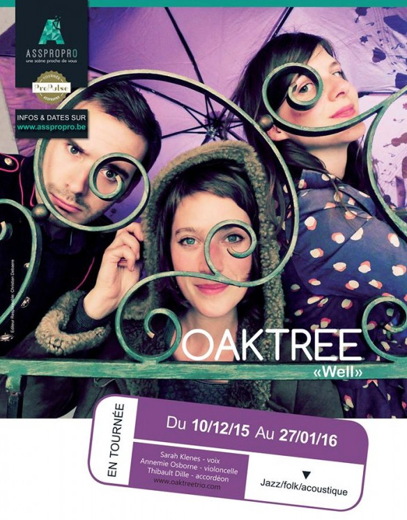 Lasne : Oak Tree au Rideau Rouge