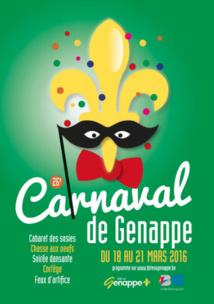 PROGRAMME DU CARNAVAL DE GENAPPE 2016