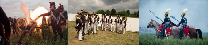Waterloo: Tous les weekends des vacances de Pâques et d'été, le Champ de Bataille vivra au rythme des reconstitueurs !