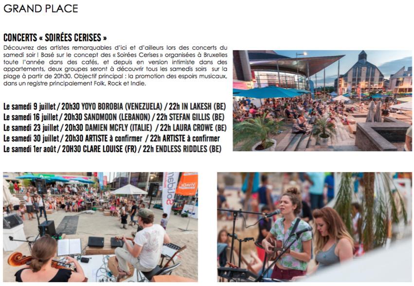 Louvain La Plage 2016, l'été dans le Béwé