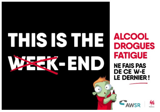'THIS IS THE END' : nouvelle campagne de sensibilisation !