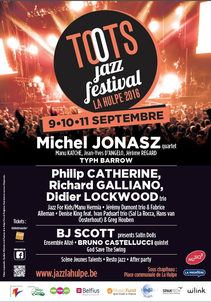 La Hulpe : Concours Toots Jazz Festival 2016