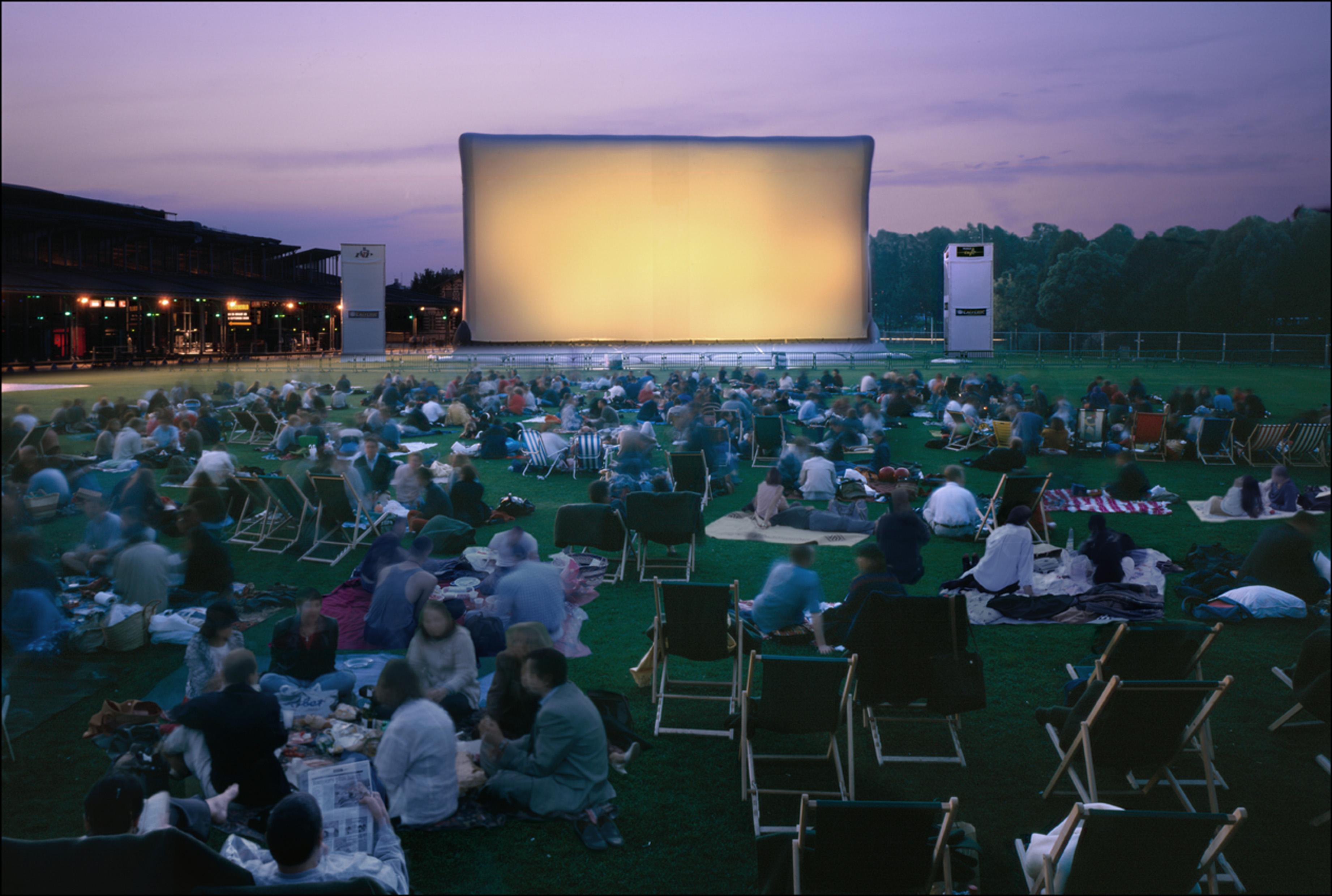 Tournée de cinéma en plein air