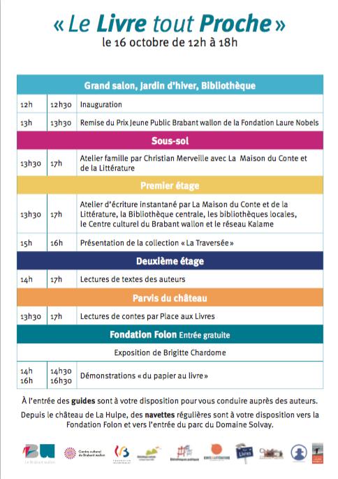 La Hulpe : Prix JEUNE PUBLIC Brabant wallon de la FONDATION LAURE NOBELS