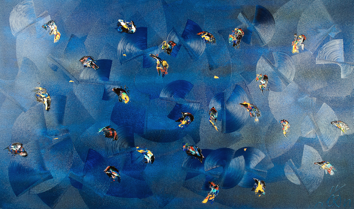 Waterloo : Isabelle Belloi et Gini, un binôme artistique entre photographie et peinture.