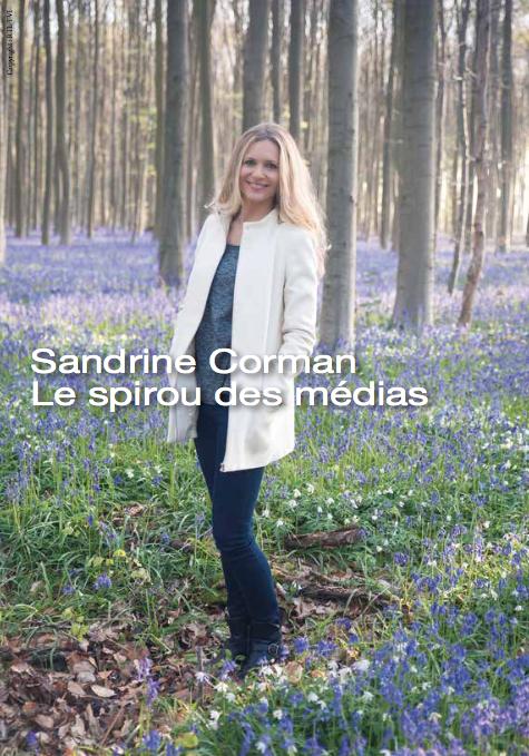 Sanrine Corman : Le spirou des médias