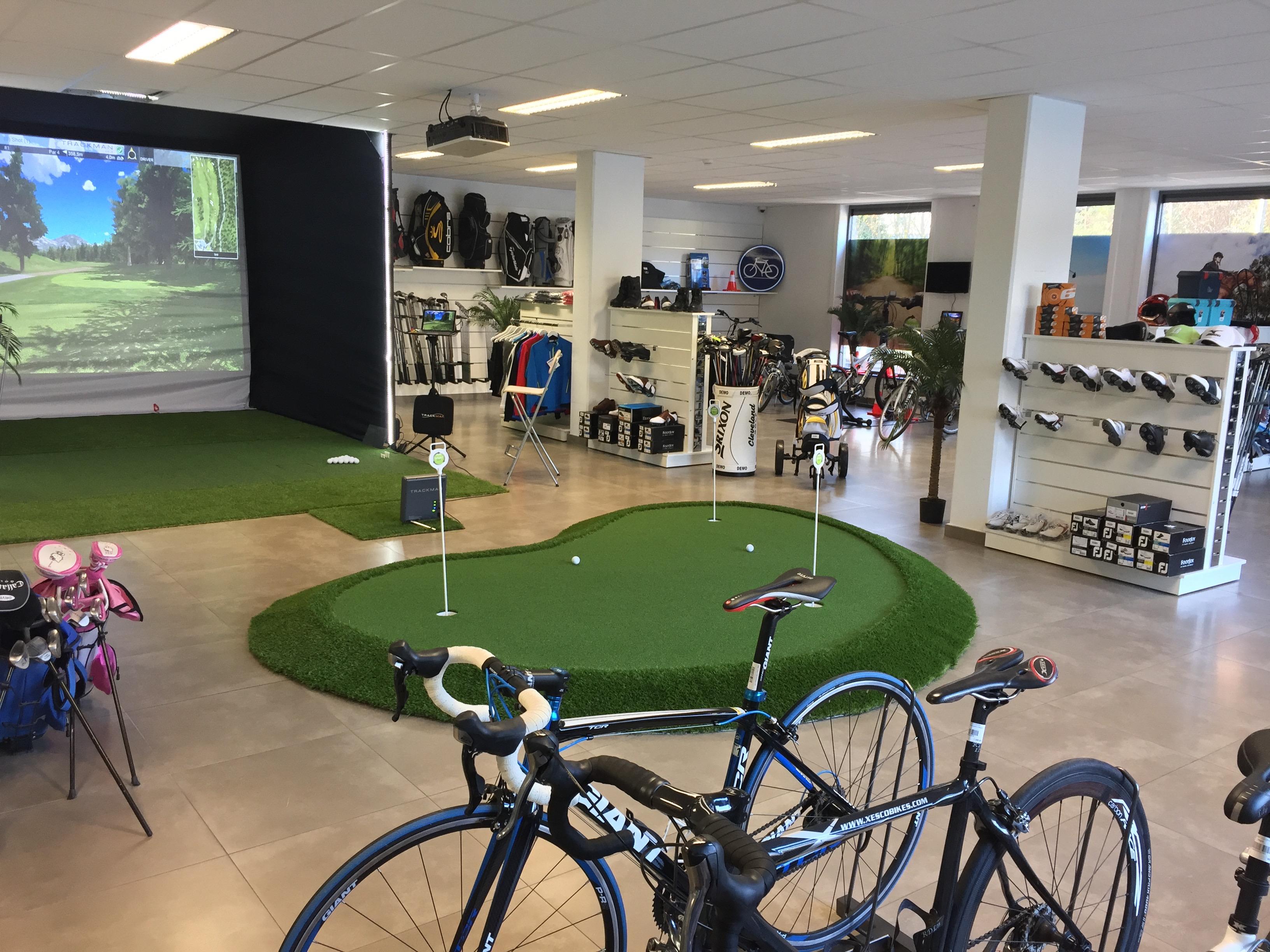 Sport Convertor : Un concept unique dans le Béwé (Matériel de golf d'occasion, matériel d'équitation d'occasion, vélos électriques d'occasion)