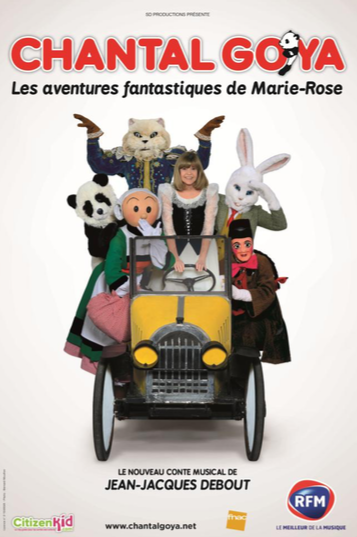 Chantal Goya, Bigard et Drucker à Louvain La Neuve !