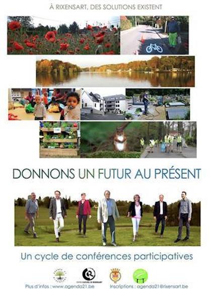 Les bonnes nouvelles ça se partage... Cycle de conférences participatives « Donnons un futur au Présent »