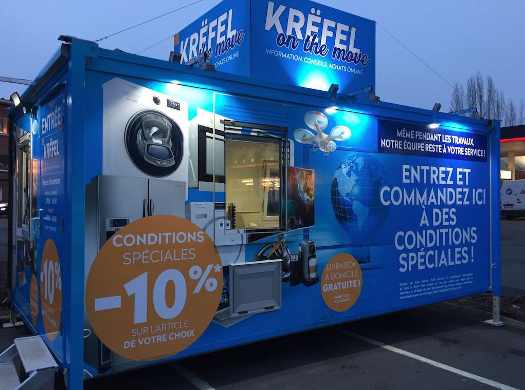 Inauguration du premier « Krëfel on the move » à Waterloo !
