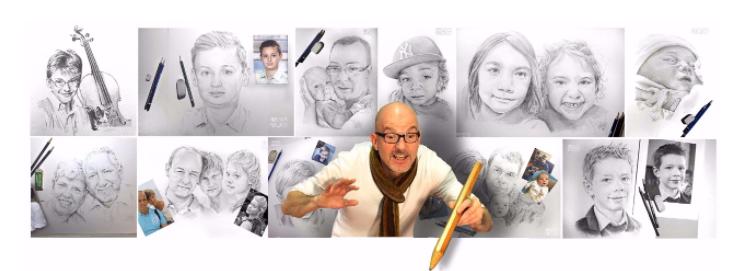 Nivelles : David Mauquoy Artiste - Illustrateur - Portraitiste