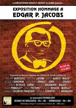 Lasne : Hommage à Edgar P. Jacobs & Ludo d'Edgar / EXPOSITION