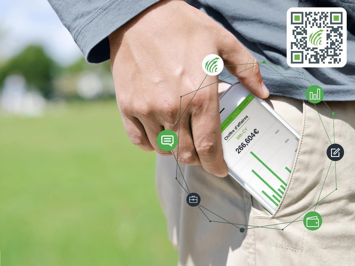 EMAsphere en direct sur smartphone