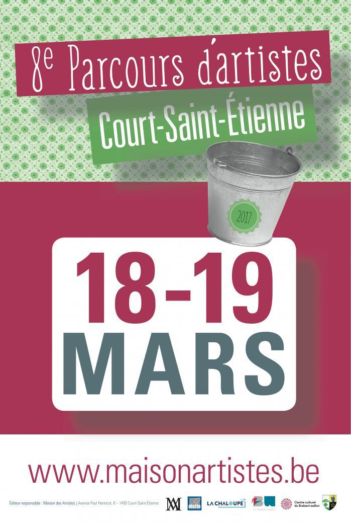 Court-Saint-Etienne : Parcours d'artistes plasticiens