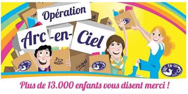 Brabant wallon : Opération Arc-en-Ciel