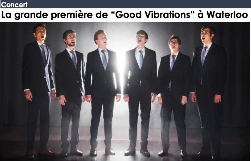 "La grande première de ""Good Vibrations"" à Waterloo"
