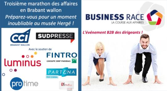 BUSINESS RACE BRABANT WALLON 2017 : Le marathon des affaires