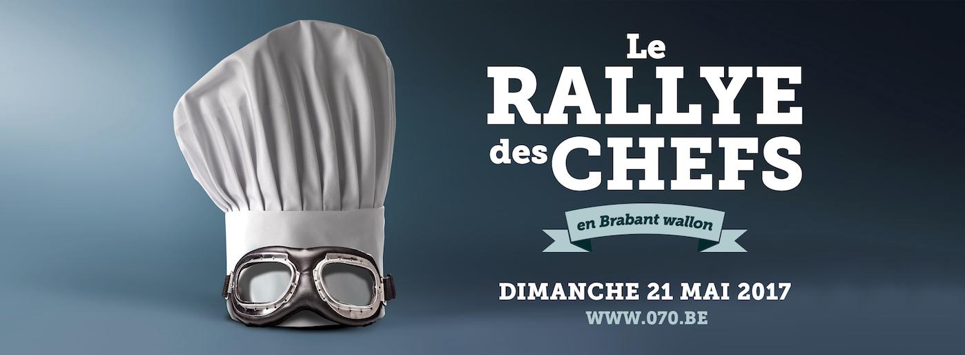 Le Rallye des Chefs en Brabant wallon !