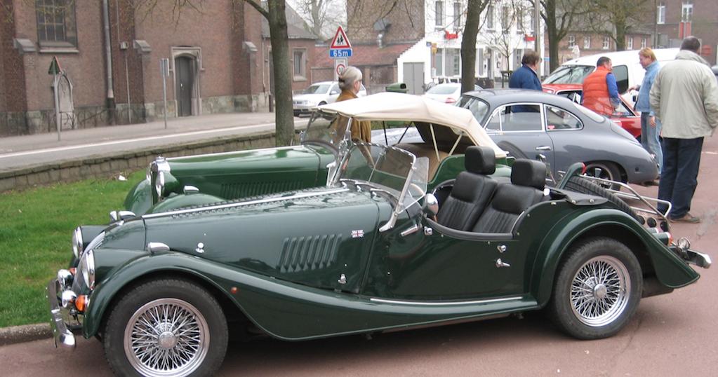 Braine le Château : Rallye de voitures anciennes (10e éd.)