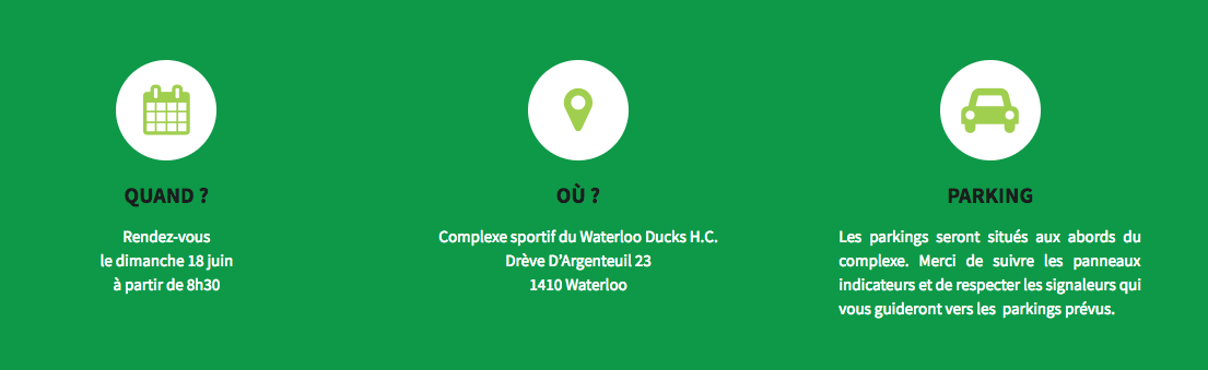 Waterloo : La Green Run !