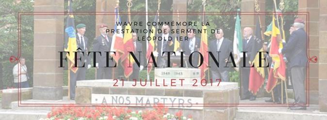 21 juillet à Wavre : Visite princière
