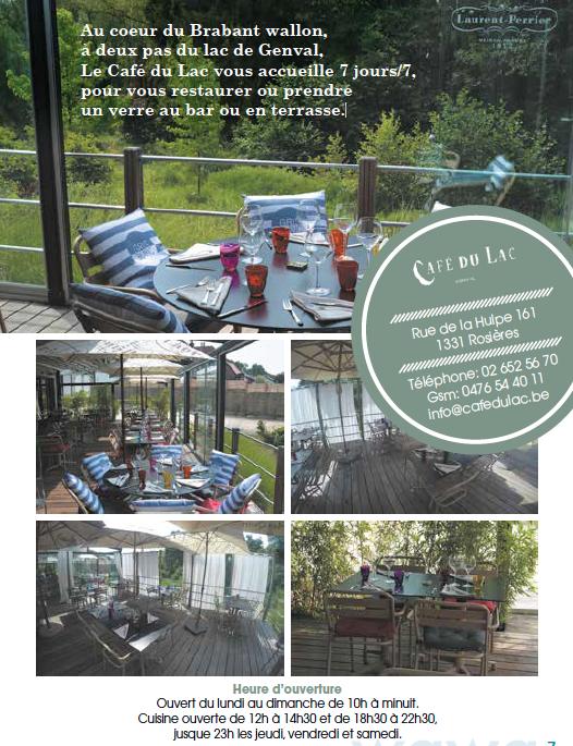 Le Café du Lac à Genval