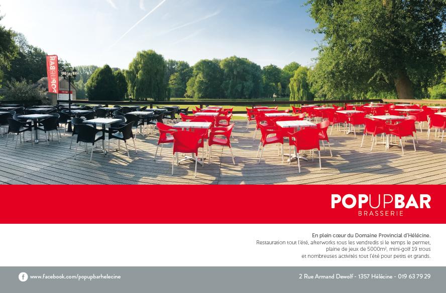 Pop Up Bar Hélécine