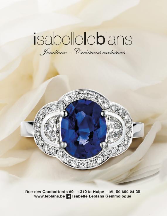 Isabelle Leblans : Joaillerie et créations exclusives de bijoux en Brabant wallon (Expert Gemmologue)
