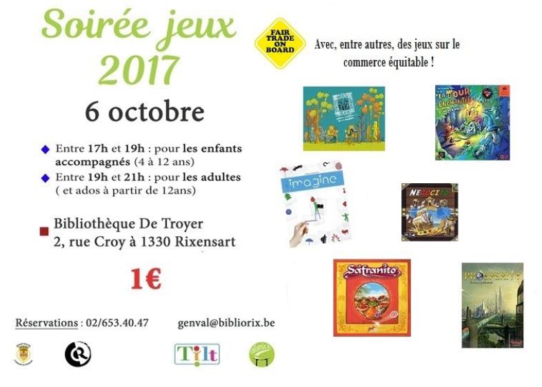 LA SEMAINE DU COMMERCE ÉQUITABLE À RIXENSART DU 4 AU 15 OCTOBRE 2017 : UN ENGAGEMENT QUI DURE !