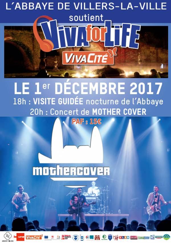 Soirée Viva for Life - Mothercover en concert !