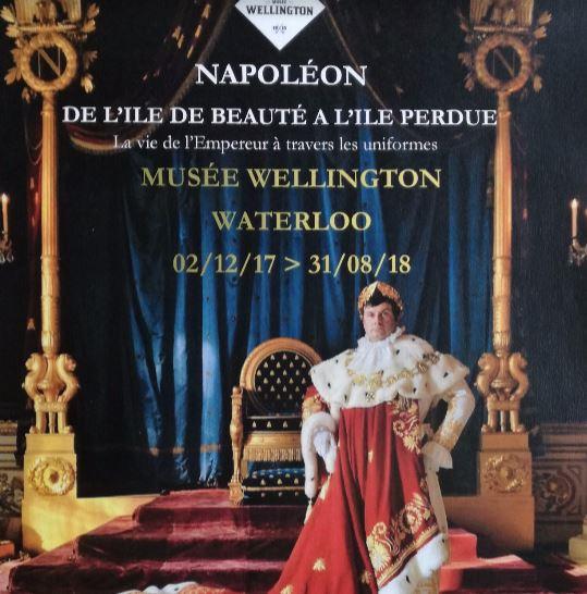 WATERLOO «Napoléon de l'île de beauté à l'île perdue»