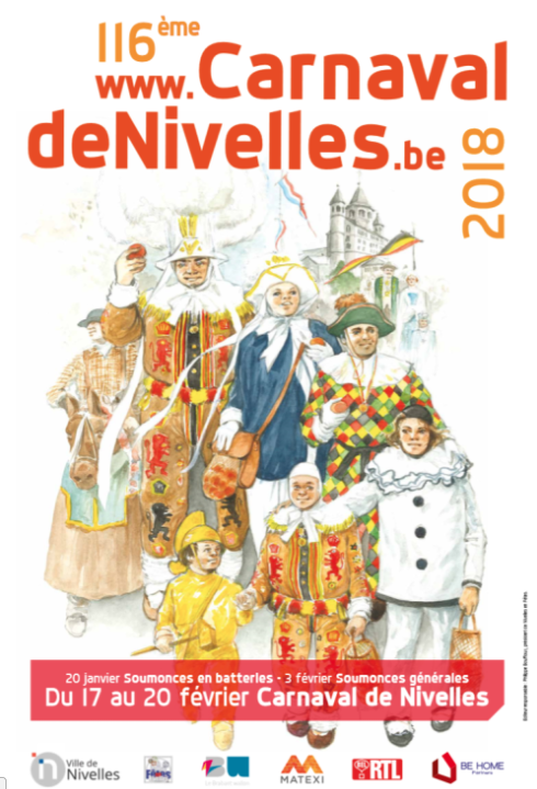 116ème Carnaval de Nivelles: Edition 2018