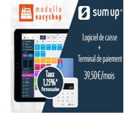 Bonne nouvelle : modullo s'associe à SumUp pour offrir aux commerçants une solution unique d'encaissement et de paiement mobile !