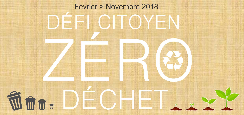Genappe : 1 er défi « Objectif Zéro déchet »