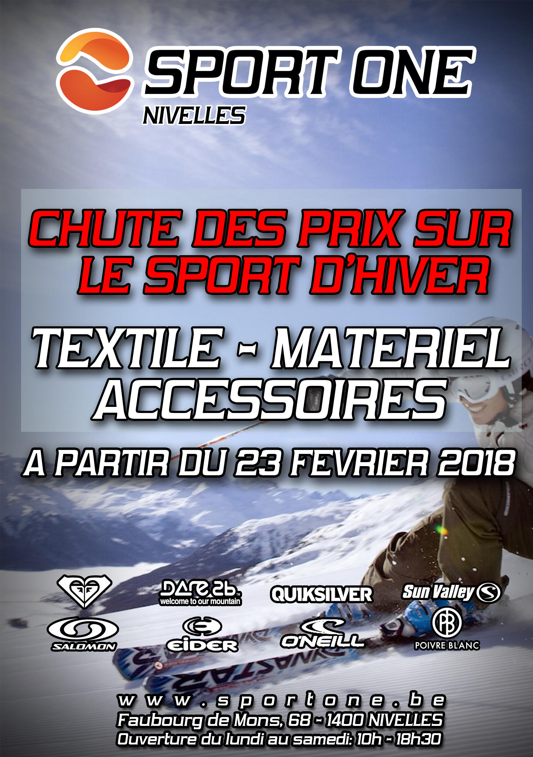 "Grand Déstockage ""SKI"" chez Sport One"