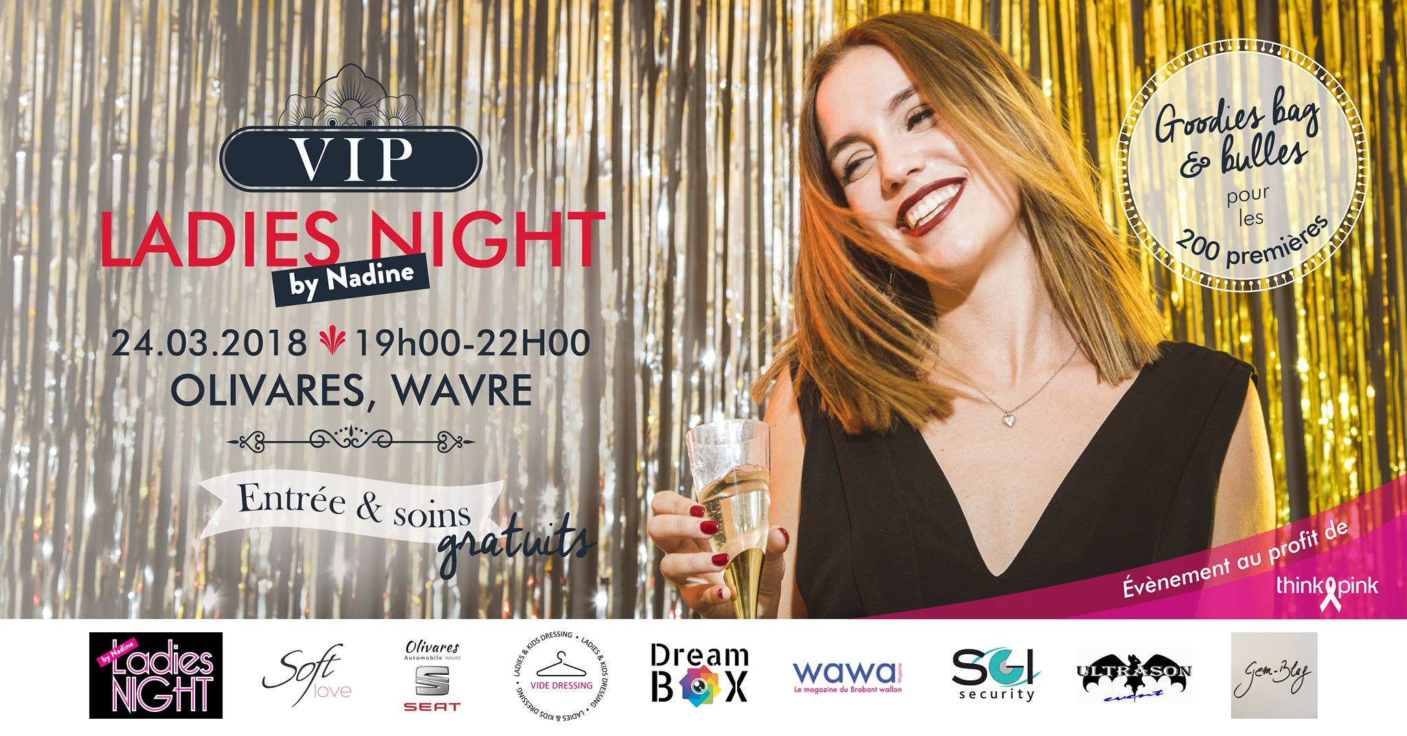 Les VIP ladies night de Nadine reviennent !