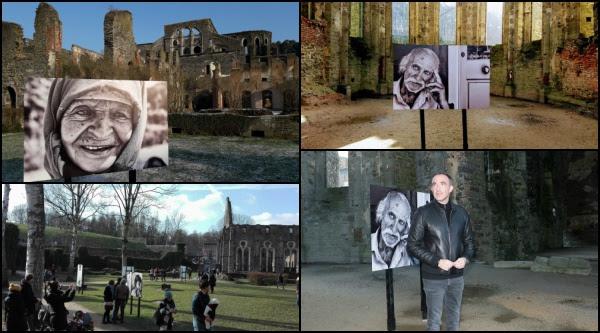 L'exposition de Nikos Aliagas continue à l'Abbaye de Villers