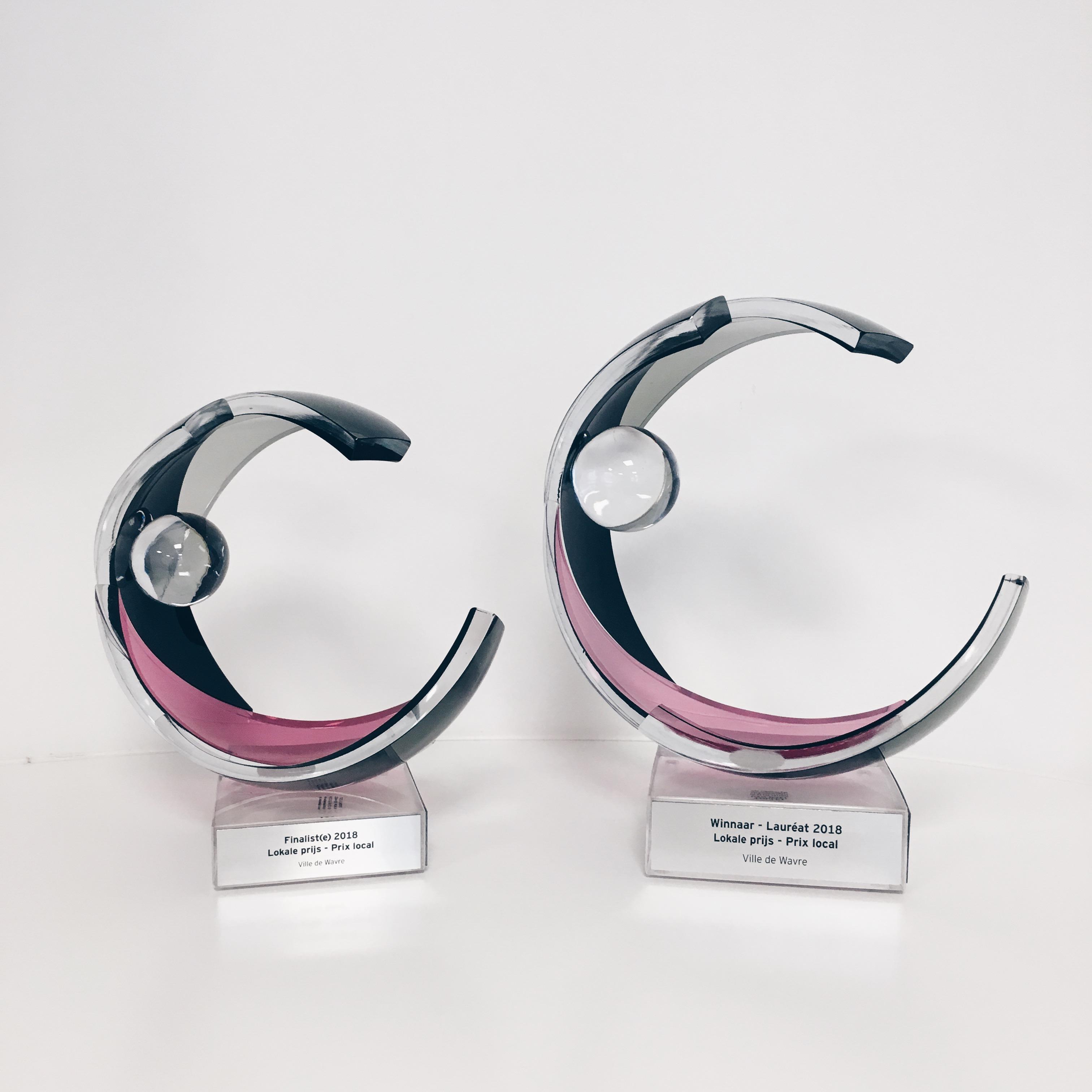 Wavre reçoit le prix de l'Organisation Publique Locale de l'Année 2018