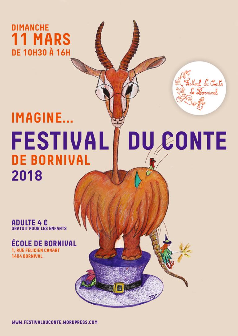 Le festival du conte de Bornival revient pour une nouvelle édition